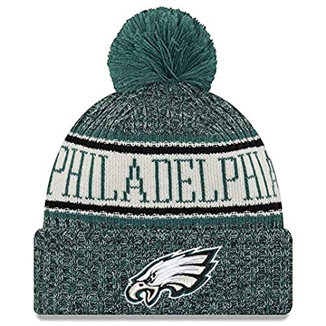 Image Unavailable. Image not available for. Color  New Era Knit  Philadelphia Eagles Biggest Fan Redux Sport Knit Winter Stocking Beanie Pom  ... 97c52f493b54