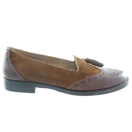 Lotus - Mocasines para mujer Marrón marrón: Amazon.es: Zapatos y complementos