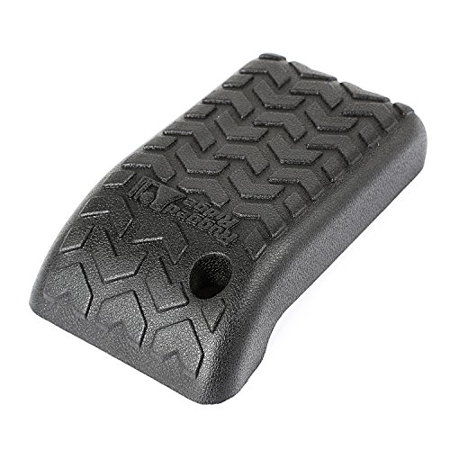 Rugged Ridge 13104.60 Jeep Wrangler TJ/LJ Black Polyurethane Armrest Cover
