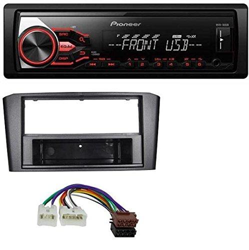 Pioneer MP3 USB AUX Radio de coche para Toyota Avensis T25 (2003 – 2009)