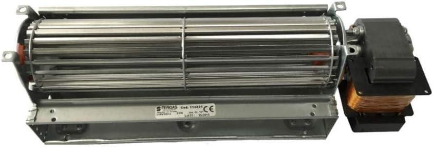 Ventilador tangencial estufa de pellets Tga 60/1-240/30 Emmevi ...