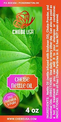 - Chebe Nettle Oil (4 oz)