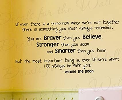 Amazon.com: If Ever There is a Tomorrow Winnie the Pooh - Winnie the ...