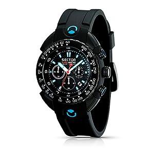 Sector Men's R3271678125 Marine Shark Master Analog Stainless Steel Watch