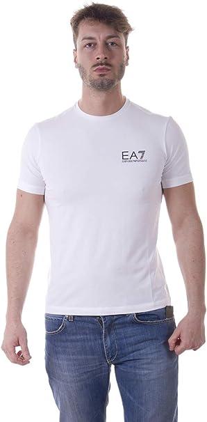 Emporio Armani Homme EA7 Logo T-Shirt, Blanc: