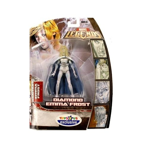Marvel Legends Series 1 Diamond Emma Frost Action Figure