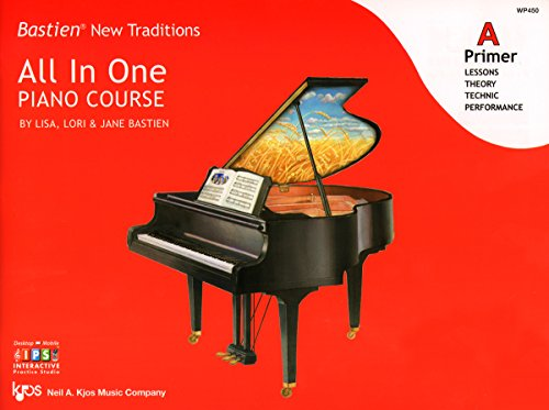 WP450 - Bastien New Traditions - All In One Piano Course - Primer ()