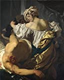 Perfect Effect Canvas ,the High Definition Art Decorative Prints On Canvas Of Oil Painting 'Johann Liss Judith In The Tent Of Holofernes ', 18 X 23 Inch / 46 X 57 Cm Is Best For Bathroom Decoration And Home Decor And Gifts