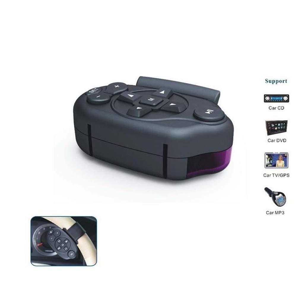 BAOYUANWANG Einfache und schnelle Wartung Wireless Steering Wheel Remote Control, car TV Mp3 Universal Remote Control Media Button Im Wesentlichen
