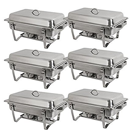 Stainless Steel Chafer Dish with Lid Full Size