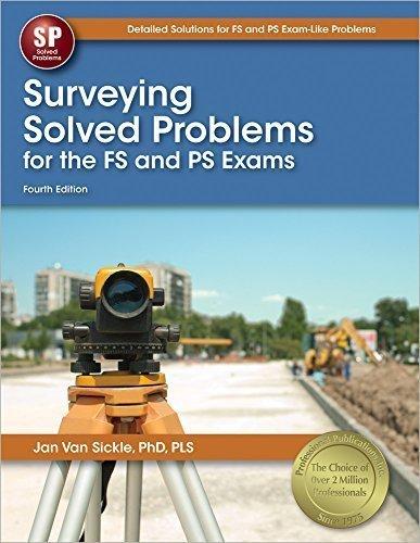 Surveying Solved Problems by Jan Van Sickle PLS (2014-11-26)