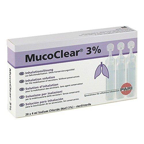 Mucoclear 3% NaCl Inhalationslösung, 20X4 ml