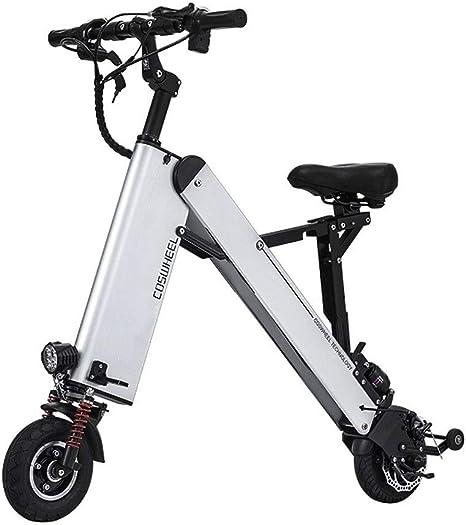 YYD Mini Bicicleta eléctrica, tamaño pequeño y Peso Ligero ...
