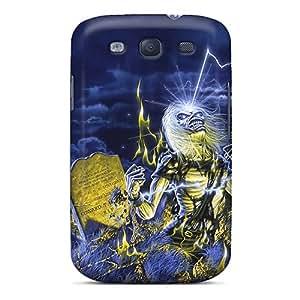 ChristopherWalsh Samsung Galaxy S3 Shock Absorption Cell-phone Hard Covers Provide Private Custom Vivid Iron Maiden Skin [woV15571hvzR]