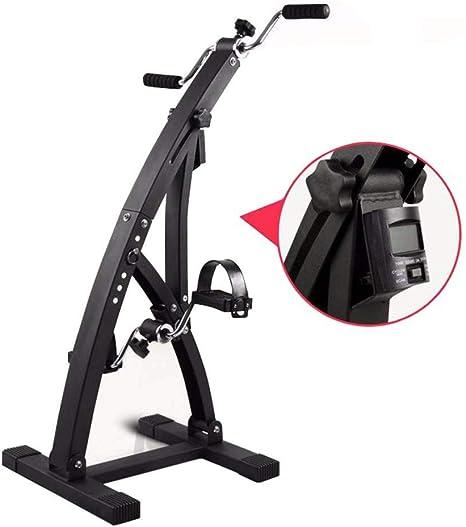 Rziioo Bicicleta estática con monitores electrónicos, Fisioterapia ...