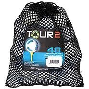 Top Flite 48 Recycled Golf Balls in Mesh Bag