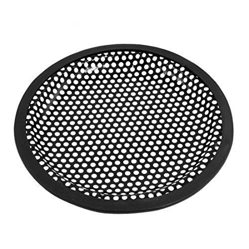 BARGAIN HOSUE Speaker Grill Subwoofer Box Protector Rubber Edge Car Horn Cover Car Audio Woofer Subwoofer Mesh Cover Protector Grill -