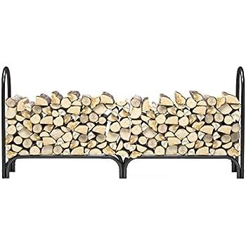 Amazon Com 2x4basics 90144 Firewood Rack System Black