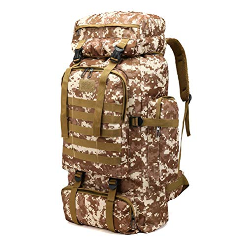 travel with 60l camping bag trekking for hiking men internal mountaineering unisex large backpack Multicolor nbsp; tactical outdoor b rucksack women amp; waterproof rainfly military frame outdoor OxqnzAO