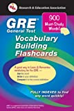 GRE Vocabulary Builder Interactive Flashcard Book, Fogiel, M. and Research & Education Association Editors, 0878911707