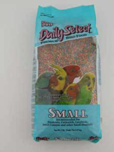 Pretty Bird International Bpb78116 5-Pound Daily Select Premium Bird Food, Small