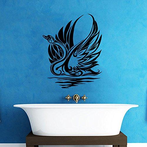 [Wall Vinyl Sticker Decals Kids Room Decor Mural Animal Bird Swan Cheap #148] (Diy Snow Globe Costume)