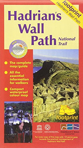 - Hadrian's Wall Path: Bowness to Wallsend (Footprint Map & Guide)