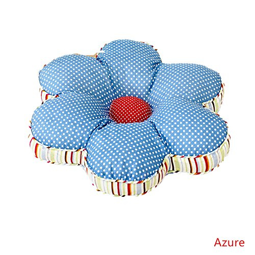 Abreeze Plum Blossom Seat Cushions Floral Pillow Chair Cushions Garden Style Decorative Home Decor 16x16inches by Abreeze