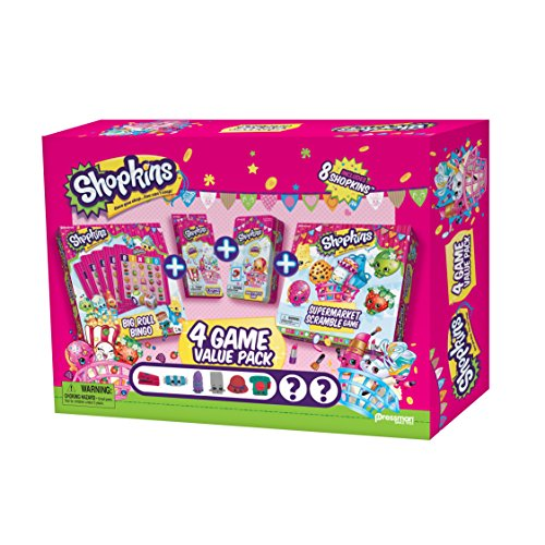 Shopkins 4 Game Value (5 Game Pack)