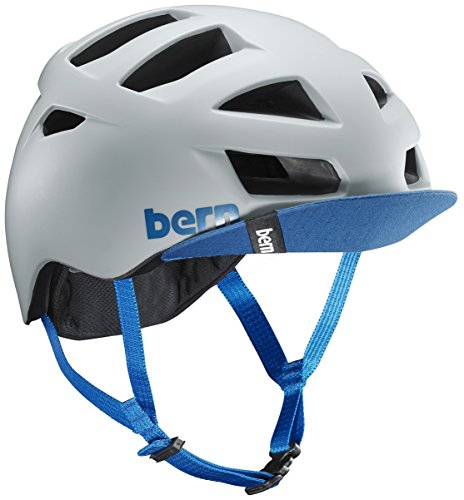 - Bern Bike Allston Helmet with Flip Visor - Men's Matte Clay Large/X-Large