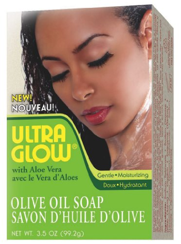(Ultra Glow Olive Oil Bar with Aloe Vera, 3.5 Ounce)