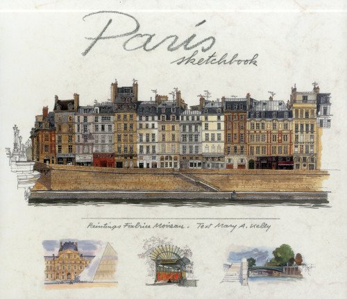 Paris Sketchbook - Paris Watercolor