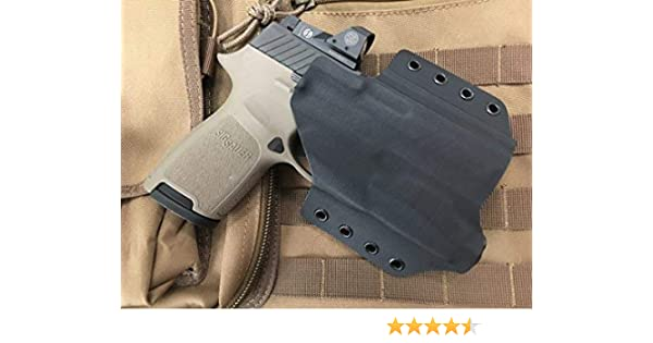 MIE Productions Kydex OWB Holsters for Glock 21 with TLR-1, TLR-3, TLR-4,  TLR-7, TLR-8, X300U