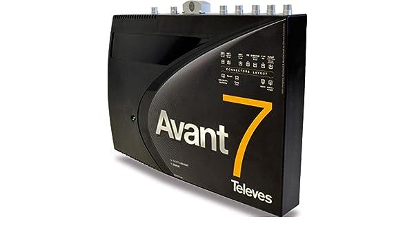 Televes avant - Amplificador avant 7 fm-biii/dab-tb-3u-fi: Amazon.es: Bricolaje y herramientas