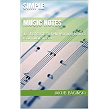 SIMPLE Music Notes: 12 flashcards to help learning how to read music notes.