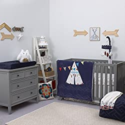 Tepee 4 Piece Baby Crib Bedding Set by NoJo - Native American Theme