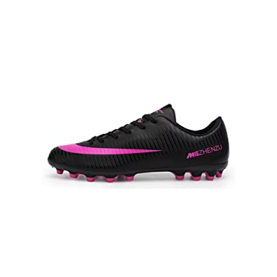 V-Hao Unisex Football Boots Men Women Soccer Shoes with Cleats Outdoor  Professional Football 6e0af11fbc