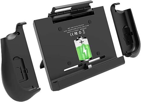 BigBlue - Funda con batería para Nintendo Switch, con un par de ...