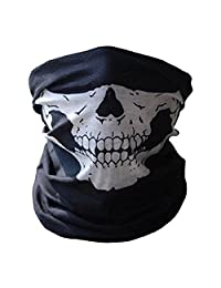 Seamless Skull Mask Design Case For Motorcycle sport Half Face Mask Headwear
