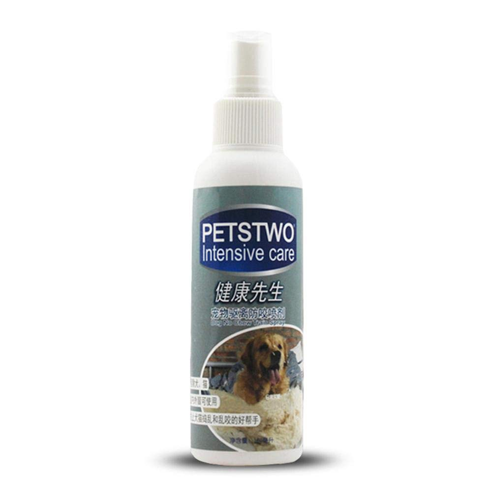 KOBWA Spray Pet Deterrent, Stops Cat's Desire to Urine Mark Spray Motion Activiated Pet Proofing Repellent Cats Dogs, Environmentally Friendly 160ML/5.47OZ Easy Spray Bottle