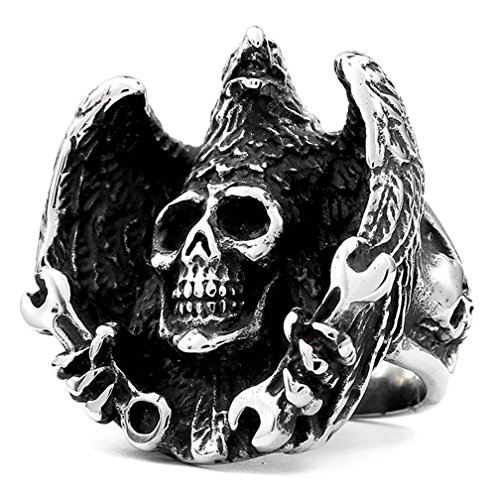 deer skull ring - 6