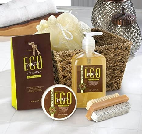 brodazha 10015300 Wholesale Verbena Spa Gift Set Bath and Body Clean ...
