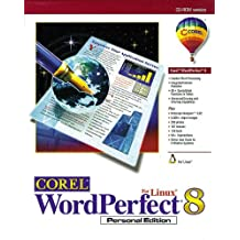 COREL WORDPERFECT 8 FOR LINUX - PERSONAL EDITION