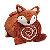 TUROSGOODS Fox Baby Weighted Blanket for Kids, Sleeping Mat for Toddlers with a Beauty Animal Pillow, Nap Mats for Preschool Kid.