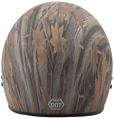GMax GM2 Youth Leaf Camo Open Face Helmet - Youth ()