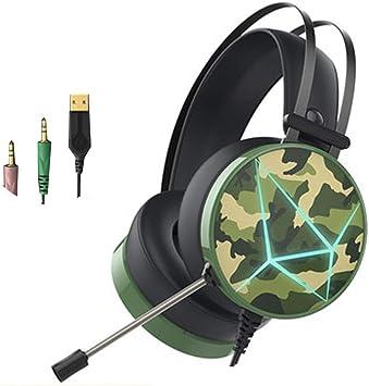Auriculares de Juego con micrófono para PC, PS4, Xbox One, para ...