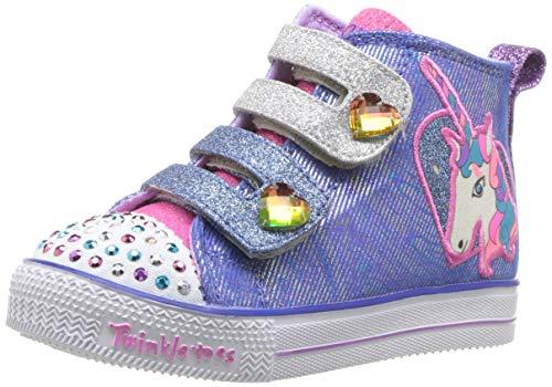 Pictures of Skechers Kids' Shuffle Lite-Unicorn Pals Sneaker 10995N 1