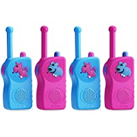 Theipar 3 Mile Range rechargeable Durable best Kids Walkie Talkies&two way radio for kids(2 Pair)