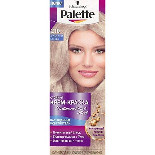 Palette Intensive Color Creme C10 Arctic Silver (Hair Color Palette)