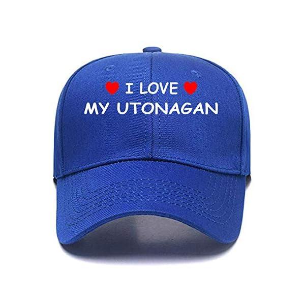 I Love My UTONAGAN Personalized Gift Cotton Any Color Custom Caps Custom Hats 1